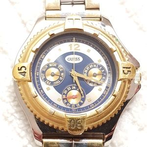 Vintage Guess 1994 Multifunction Quartz Watch Men